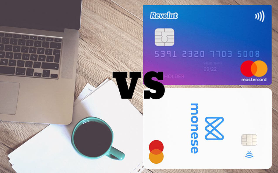 Revolut vs. Monese in Romania. Care este cel mai bun card modern?